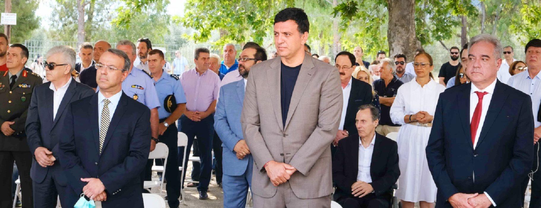 Βασίλης Κικίλιας: Εγκαινίασε την 24ωρη λειτουργία του πρότυπου Κέντρου Υγείας Καμένων Βούρλων (ΦΩΤΟ)