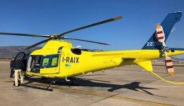 Έφτασαν στην Ελευσίνα τα δύο αεροσκάφη αεροδιακομιδών του ΕΚΑΒ