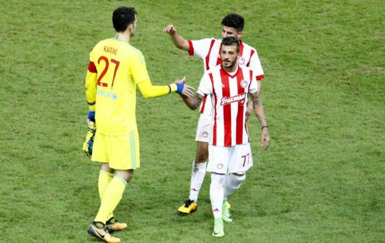 Στο… ρελαντί ο Ολυμπιακός 4-1 τη Λάρισα - sports.ert.gr
